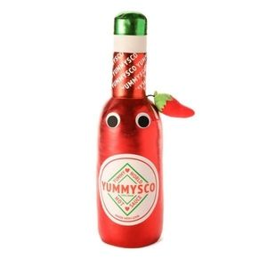 Kidrobot yummy world roxy hot sauce plush pillow